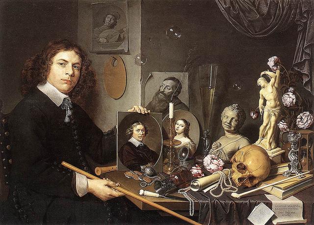 Девид Бейли автопортрет 1651