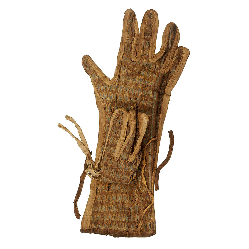 2ТПерчатки Тутанхомна из льна