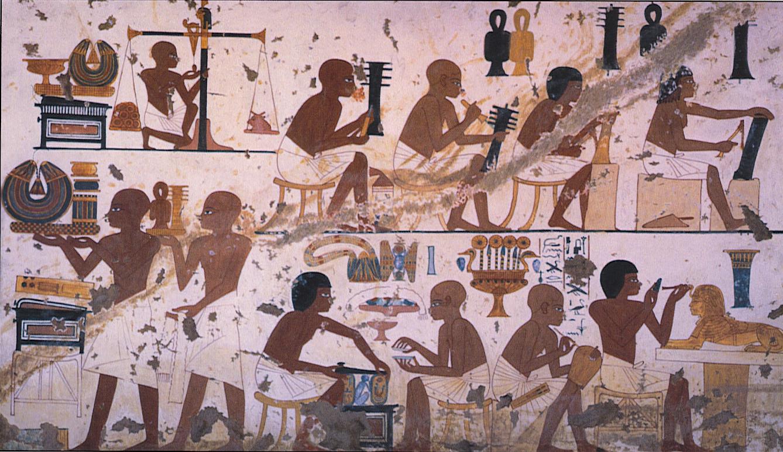 4 Мастерская изящных предметов Аменхотеп 3, 1400