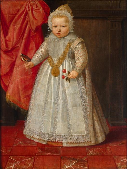 Даниэль ван ден Квиборн портрет мальчика