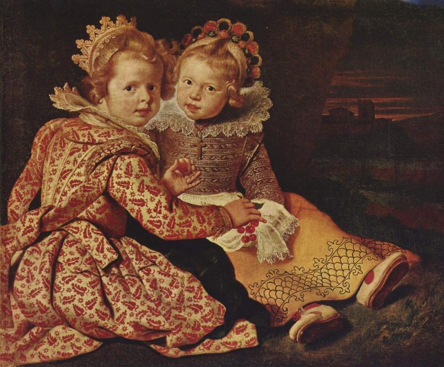 Корнелис Вос. Дети художника (мальчик справа)