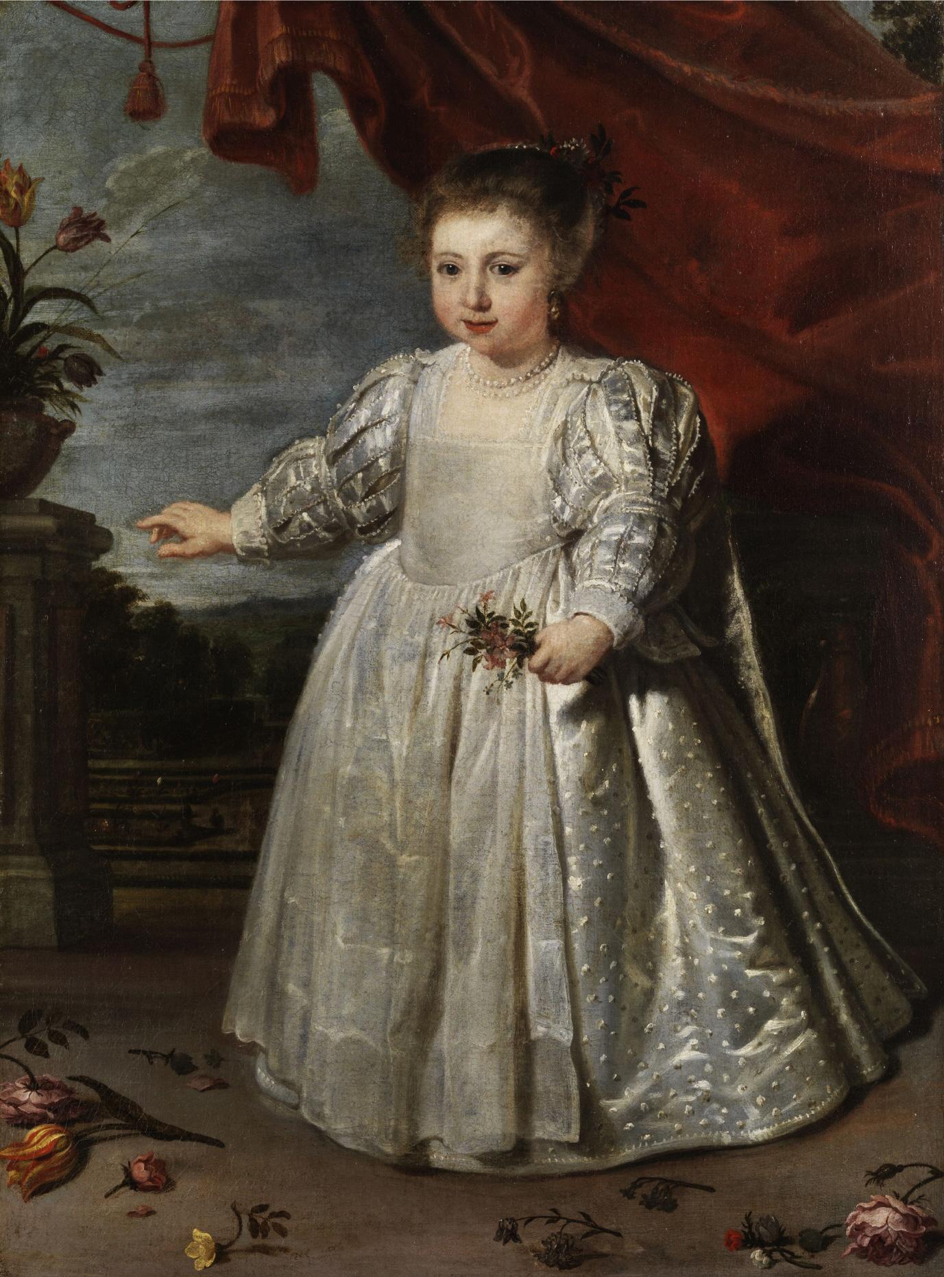 Корнелис де Вос, дочь художника
