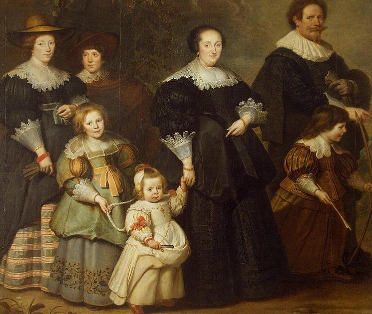 Корнелис де Вос. Автопортрет с женой Сюзанной и детьми