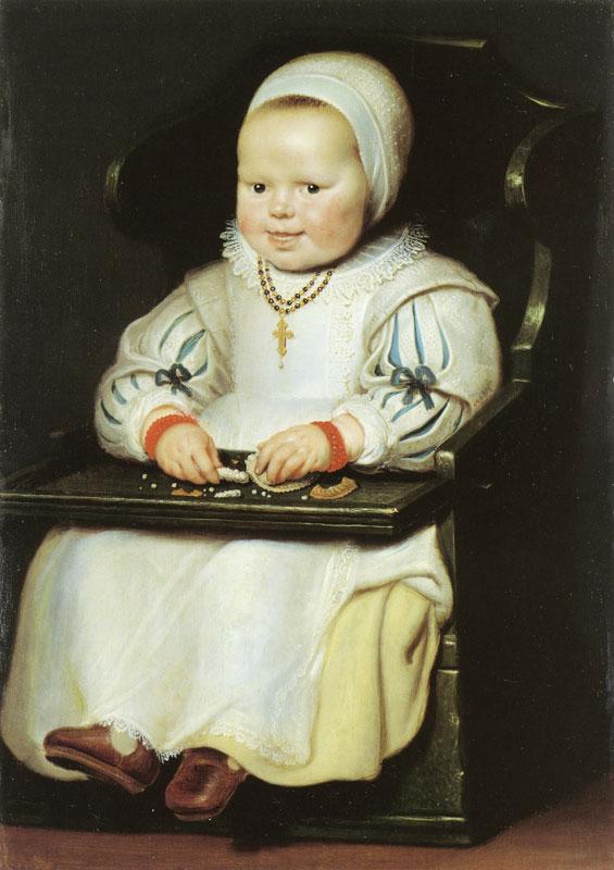 Корнелис де Вс, портрет дочери Сюзанны