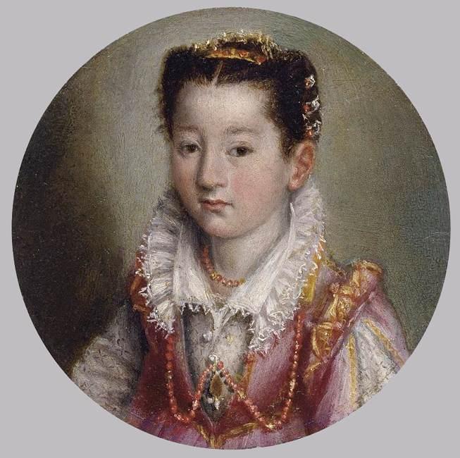 Лавиния Фонтана Портрет Девочки - 1580