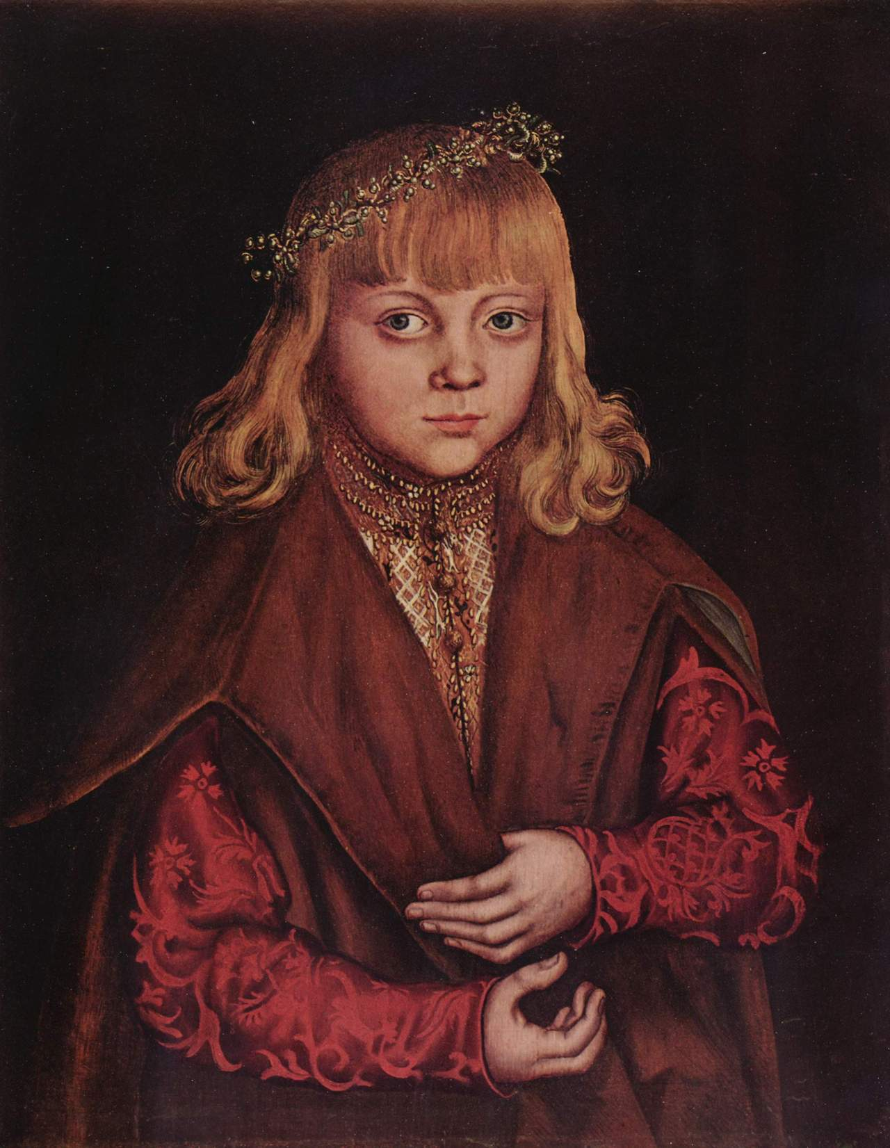 Лукас кранах стар Саксонский принц