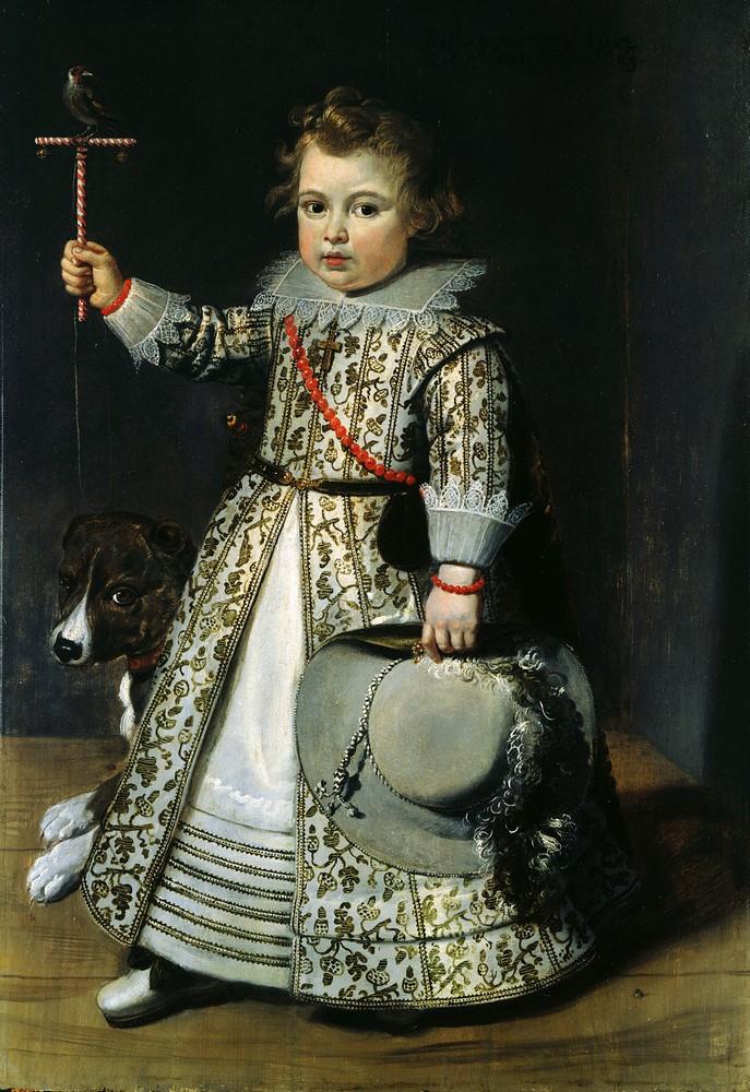Неизвестный автор портрет мальчика
