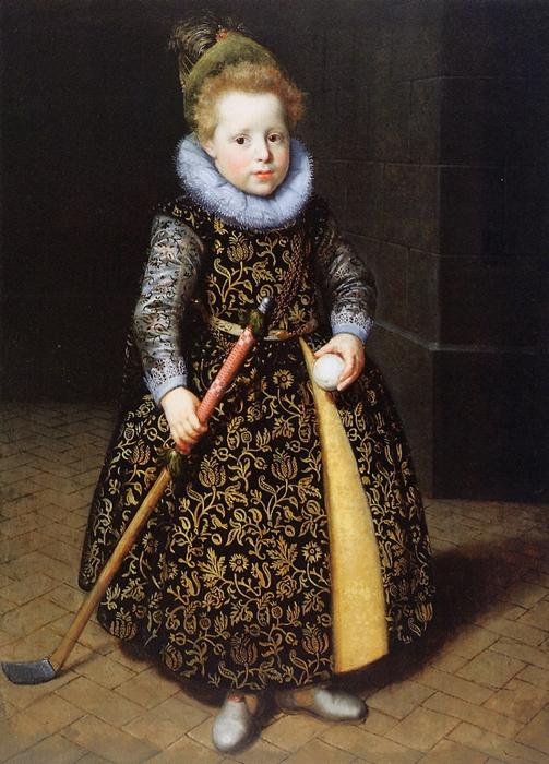 Пауль ван Морельсе, четырехлетний мальчик