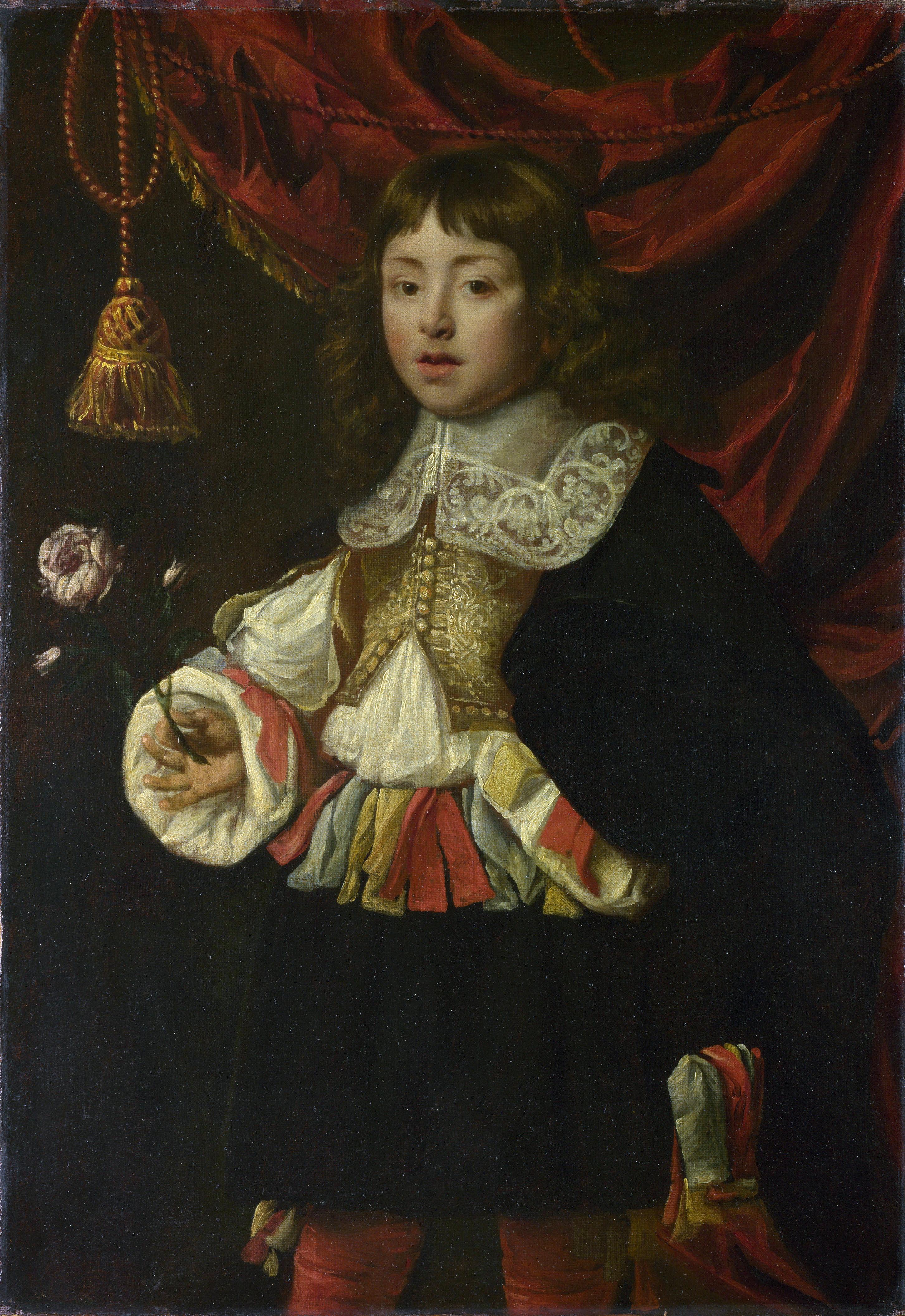 Портрет мальчика неизвестный