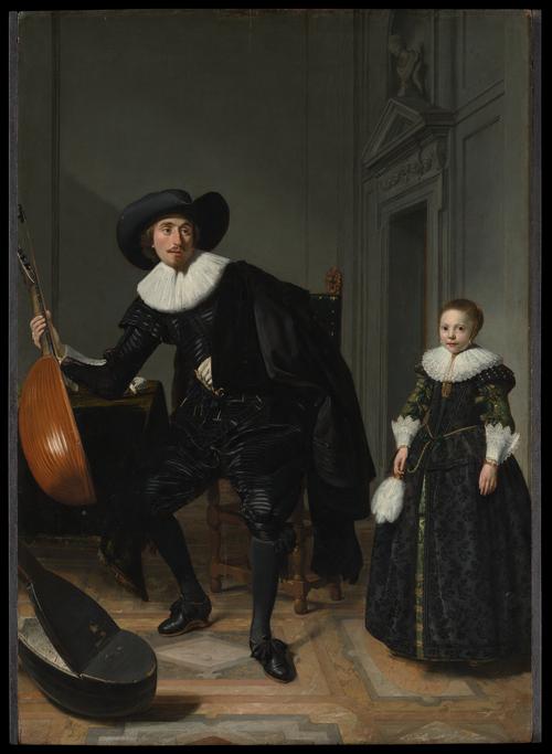 Томас де Кейсер Музыкант и его дочь.