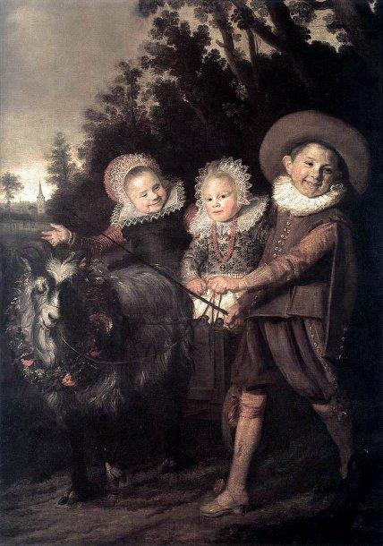 Франс Хальс Группа детей