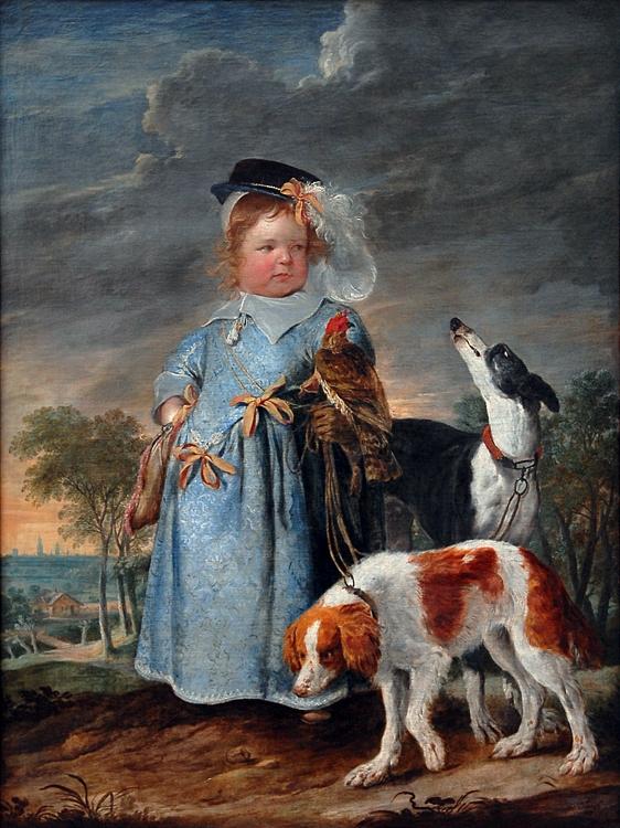 Эразм Квейллин Portrait of a Young Boy