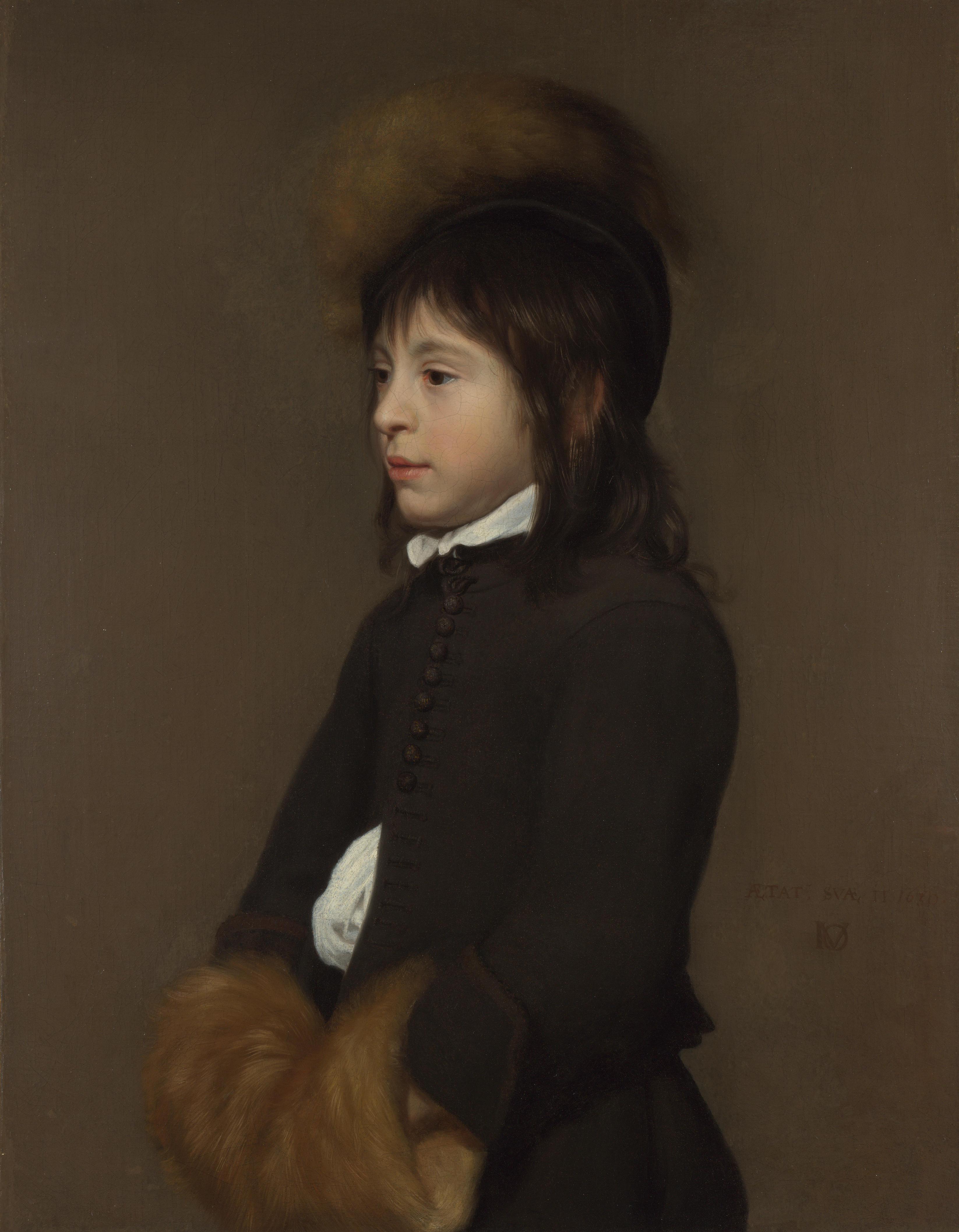 Якоб ван Ост 11 летний мальчик