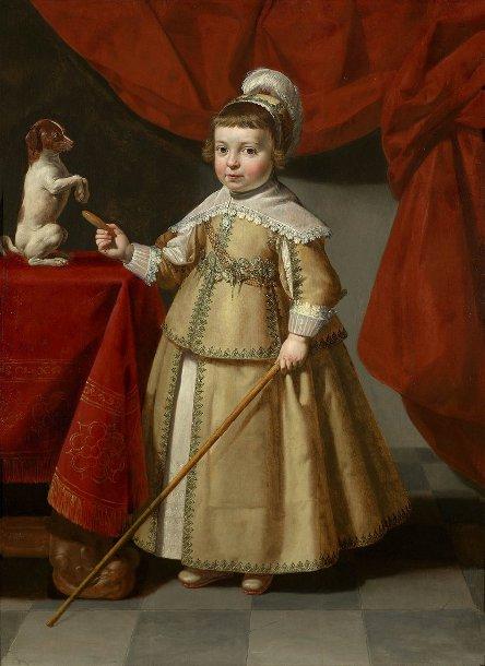 Ян ван Бийлет Мальчик в желтом платье