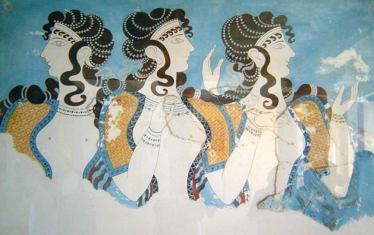 Дамы в голубом
