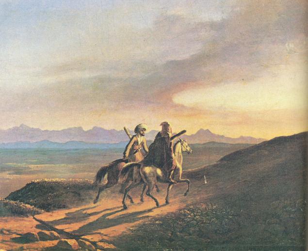 Воспоминание о Кавказе Лермонтов
