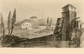 Рисунок Гёте