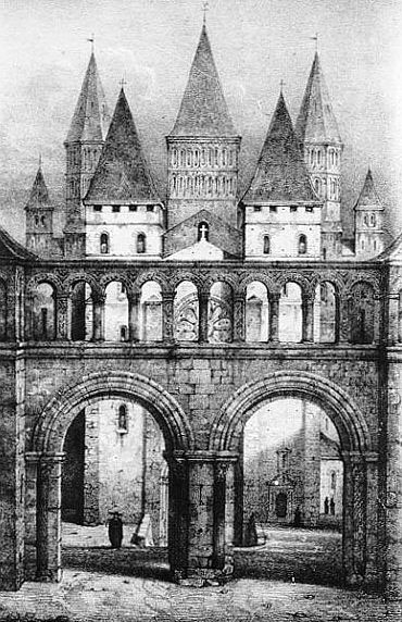 Клюни абб грав 19 века