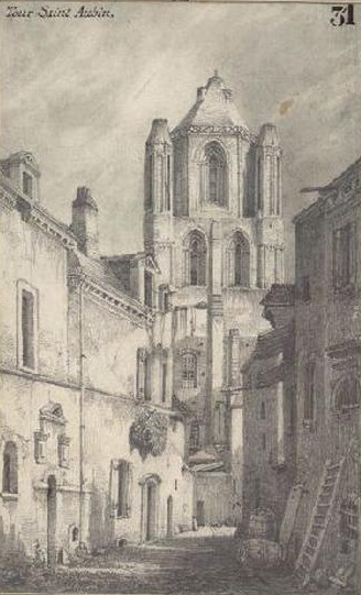 Анже аббатство Сент-Обен