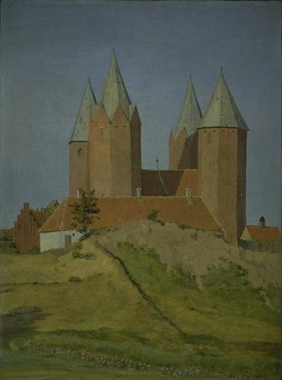 Каллумборг Дания Церковь Богородицы