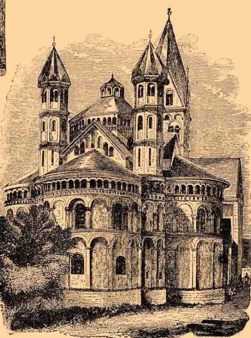 Кельн церковь св. апостолов