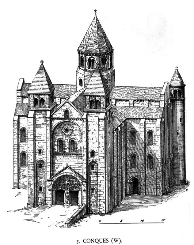 Конк аббатство Сент-Фе де Конк