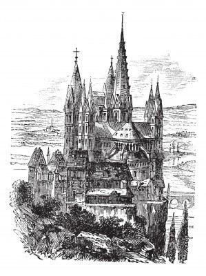 Лимбургский собор 1880-е