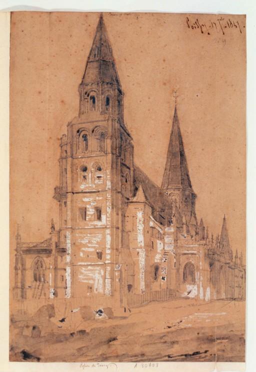 Пуасси церковь Нотр-Дам 1190