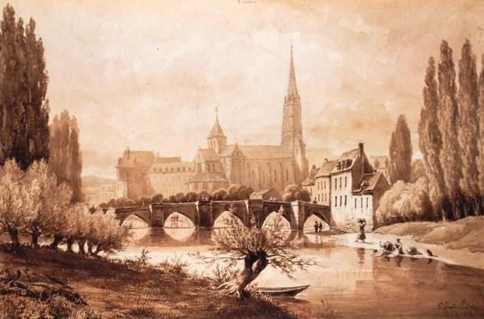 Пуатье сен-савен-сюр-гартамп пуатье2 1861