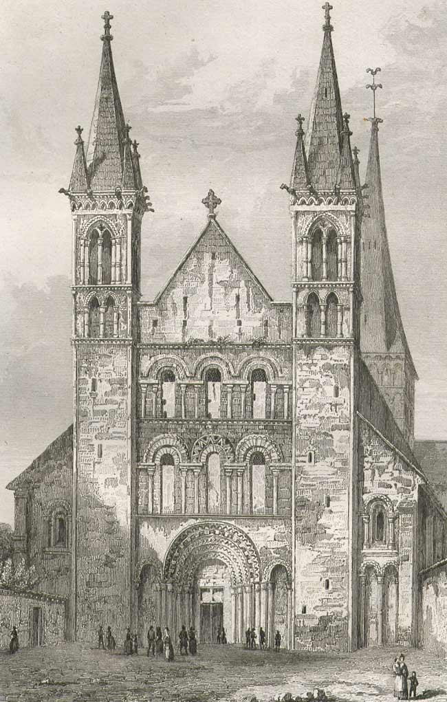 Сен-Жорж-де-Бошервилль 1117-1125