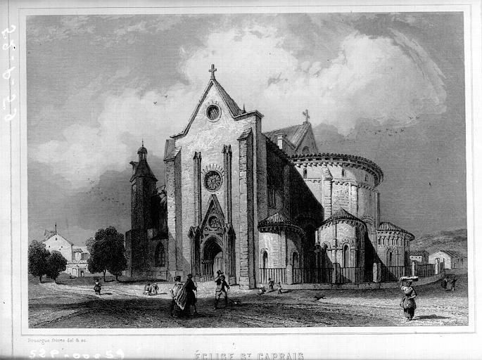 Сен-Капре церк Анжен