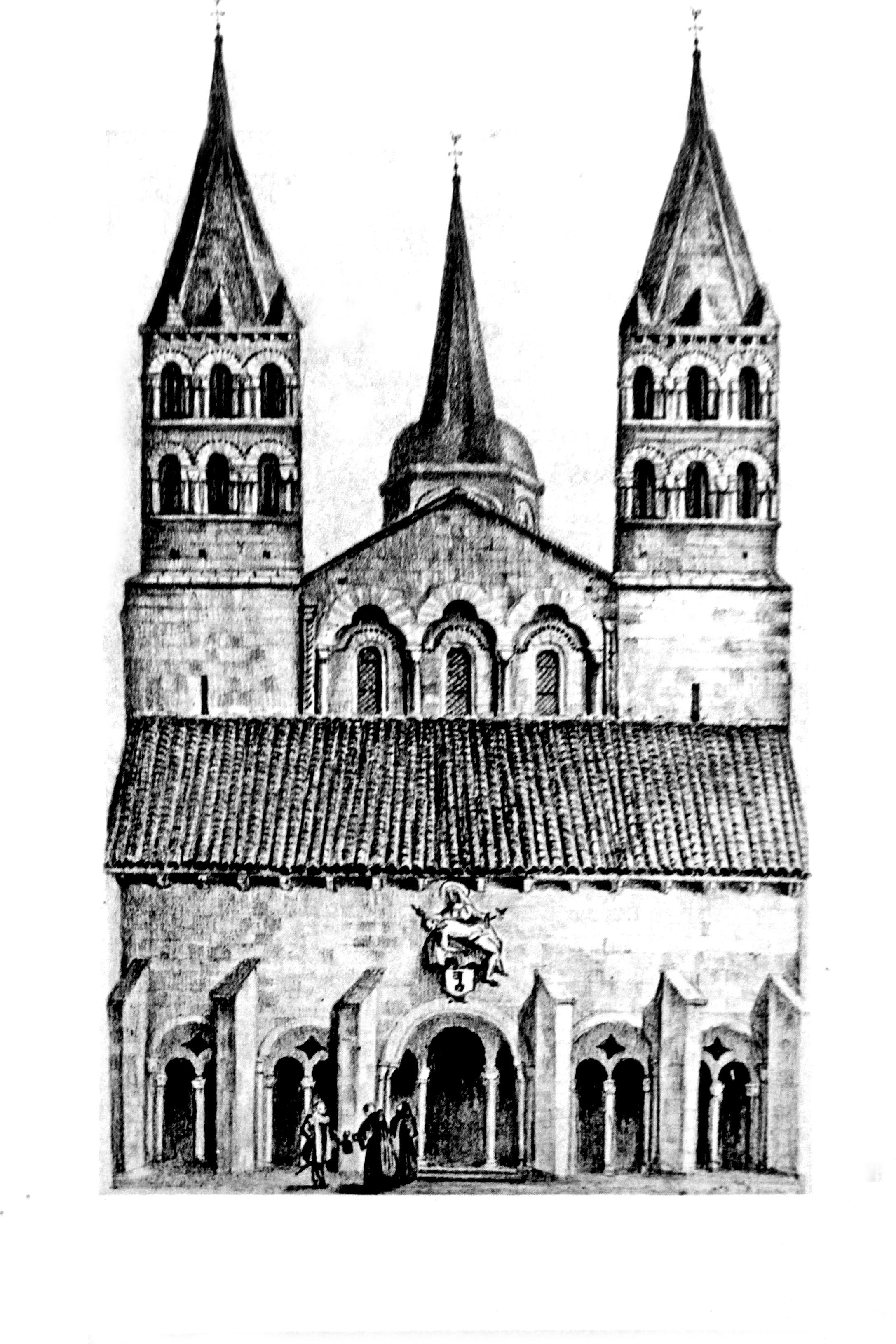 Сент-Этьен-де-Невер 1087 18 век