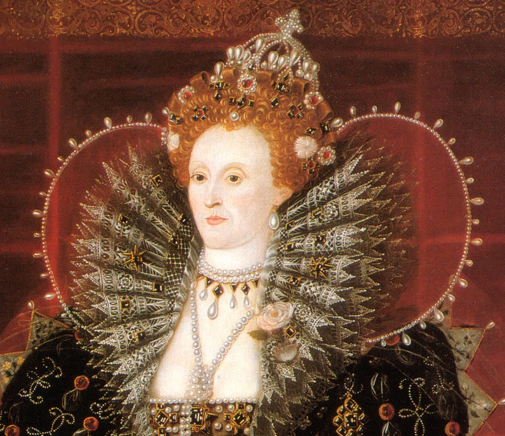 Elizabeth I (the Hardwick House portrait) 1592 or c. 1599-01