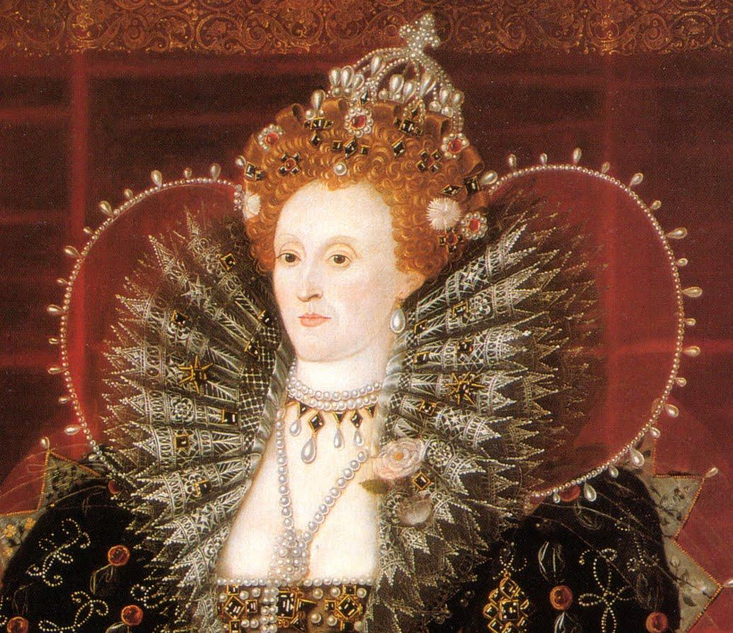Elizabeth I (the Hardwick House portrait) 1592 or c. 1599-01