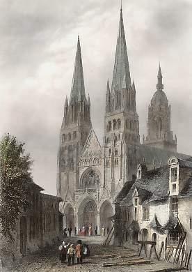 Франция Байё собор