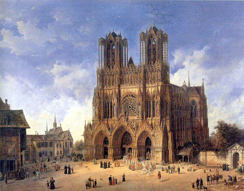 Франция Реймский собор