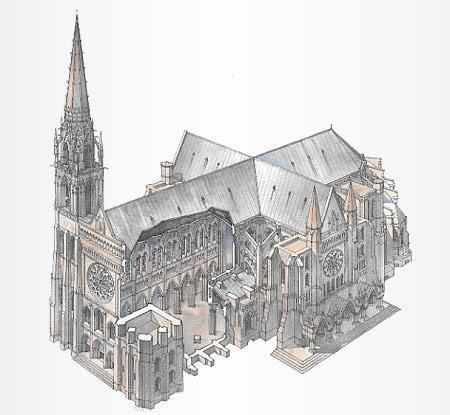 Франция Шартр2