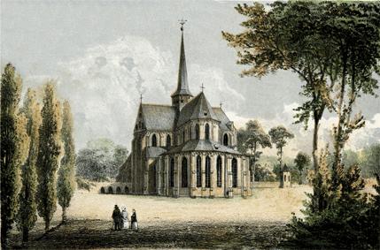 Германия Бад-Доберан монастырская церковь кирпич