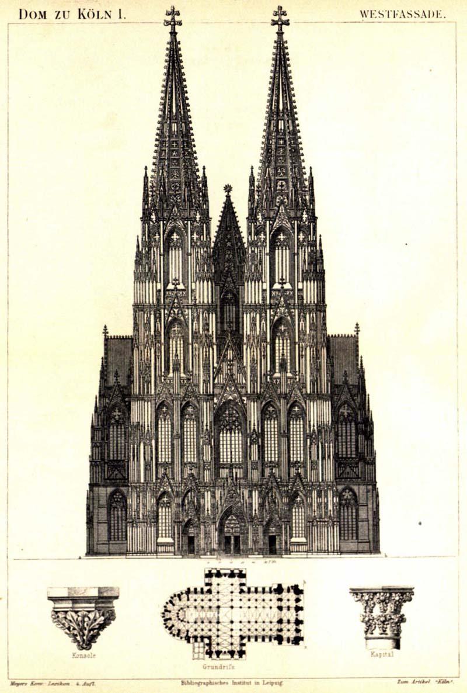 Германия Кельнский собор