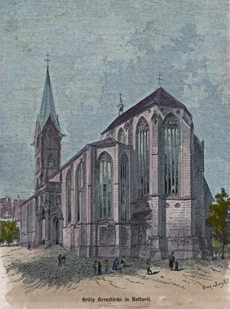 Германия Крестовоздвиженский собор Ротвейлер