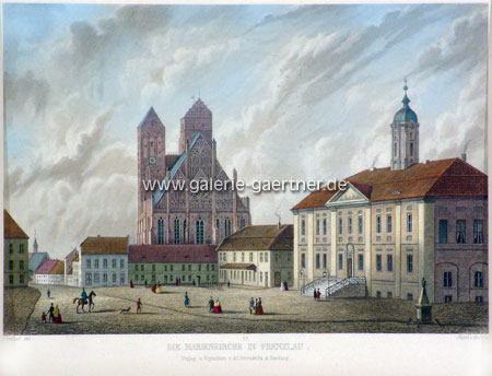 Германия Пренцлау Мариенкирхе