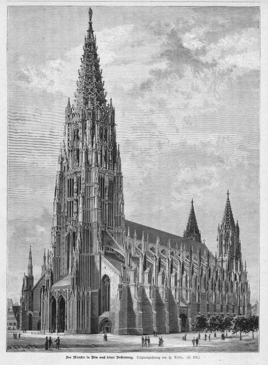 Германия Ульмский собор2