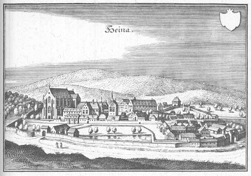 Германия Хаина монастырь Германия