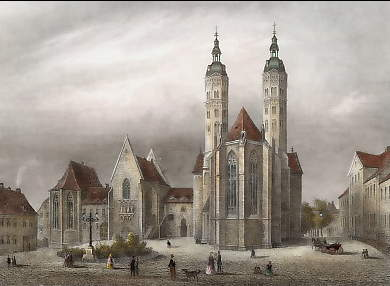 Германия Наумбургский собор