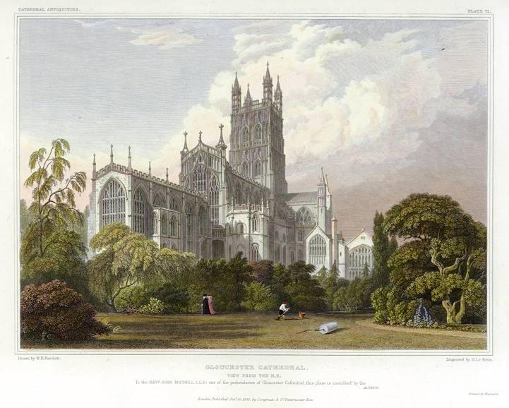 Англия Глостерский собор