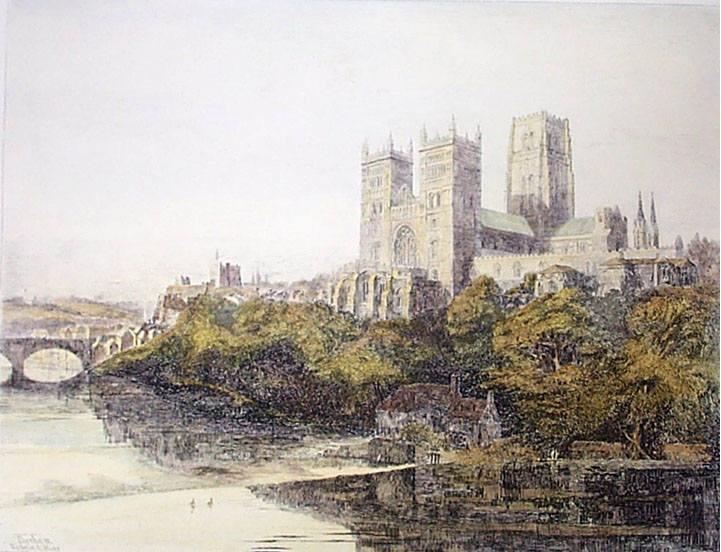 Англия Даремский собор