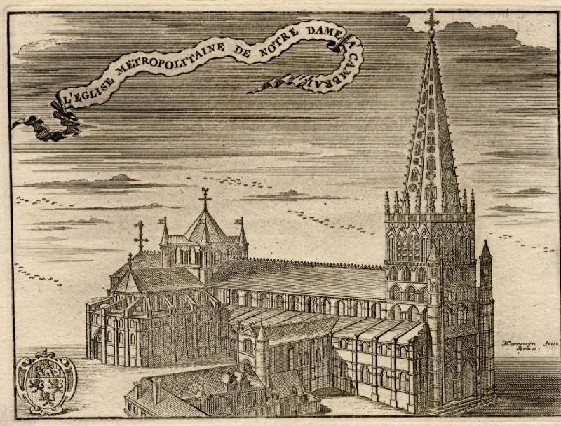Англия Кембридж Старый готический собор