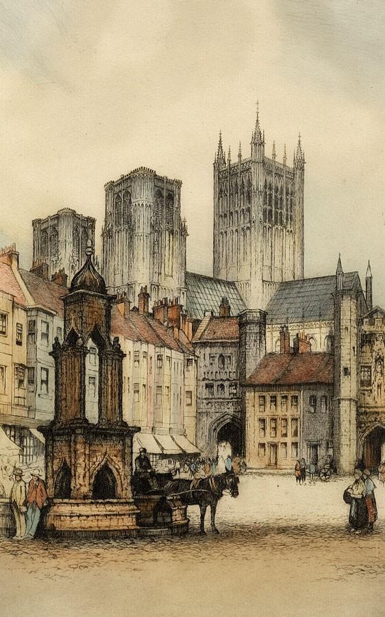 Англия Уэльский собор