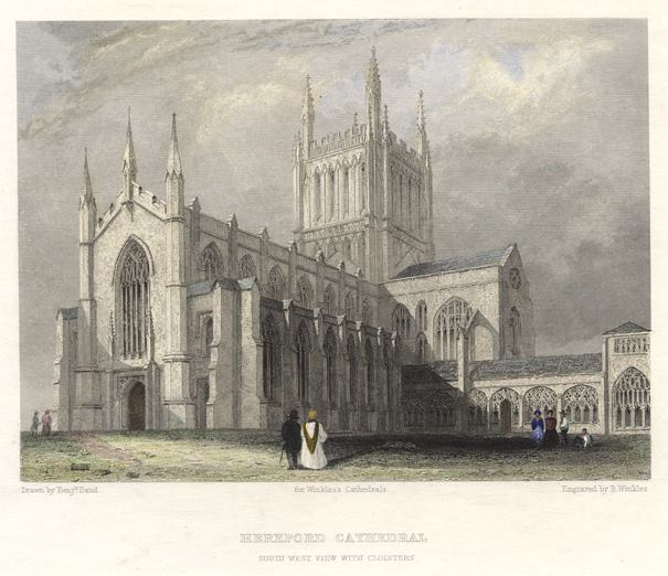 Англия Херефордский собор