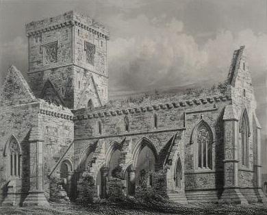 Англия Храм Ионы